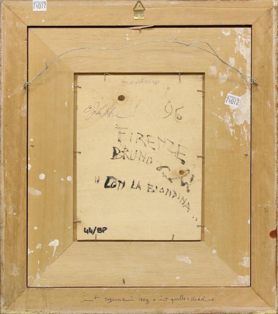 "Bruno Paoli (1915-2005, Italy) ""???Coti la Biondina"" - 3"