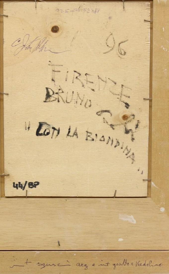 "Bruno Paoli (1915-2005, Italy) ""???Coti la Biondina"" - 4"