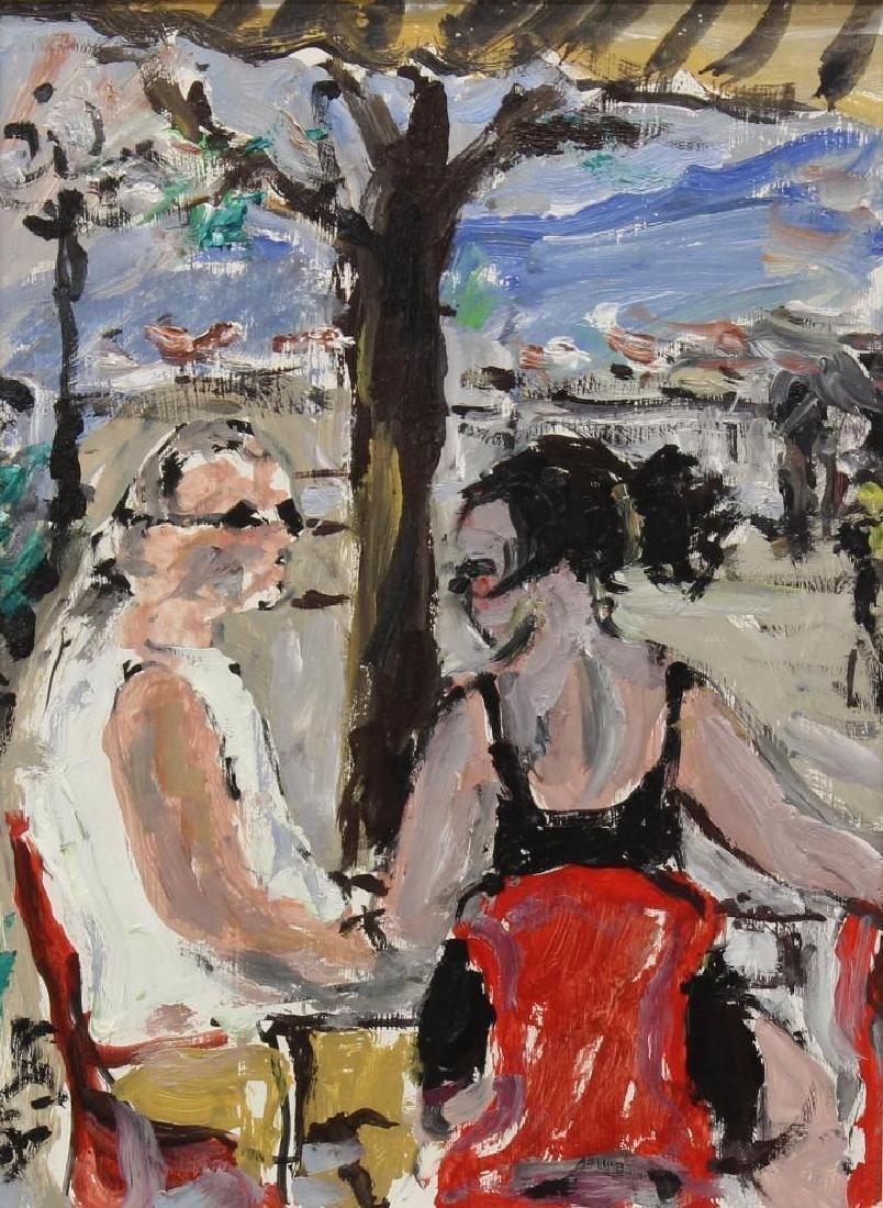 """Bruno Paoli (1915-2005, Italy) """"Baretto del Piazzale"""" - 2"""