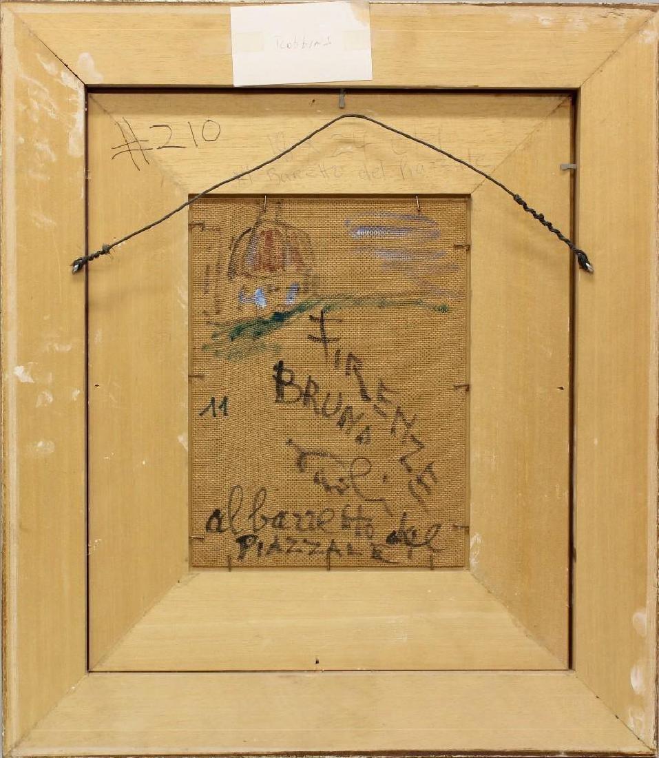 """Bruno Paoli (1915-2005, Italy) """"Baretto del Piazzale"""" - 3"""