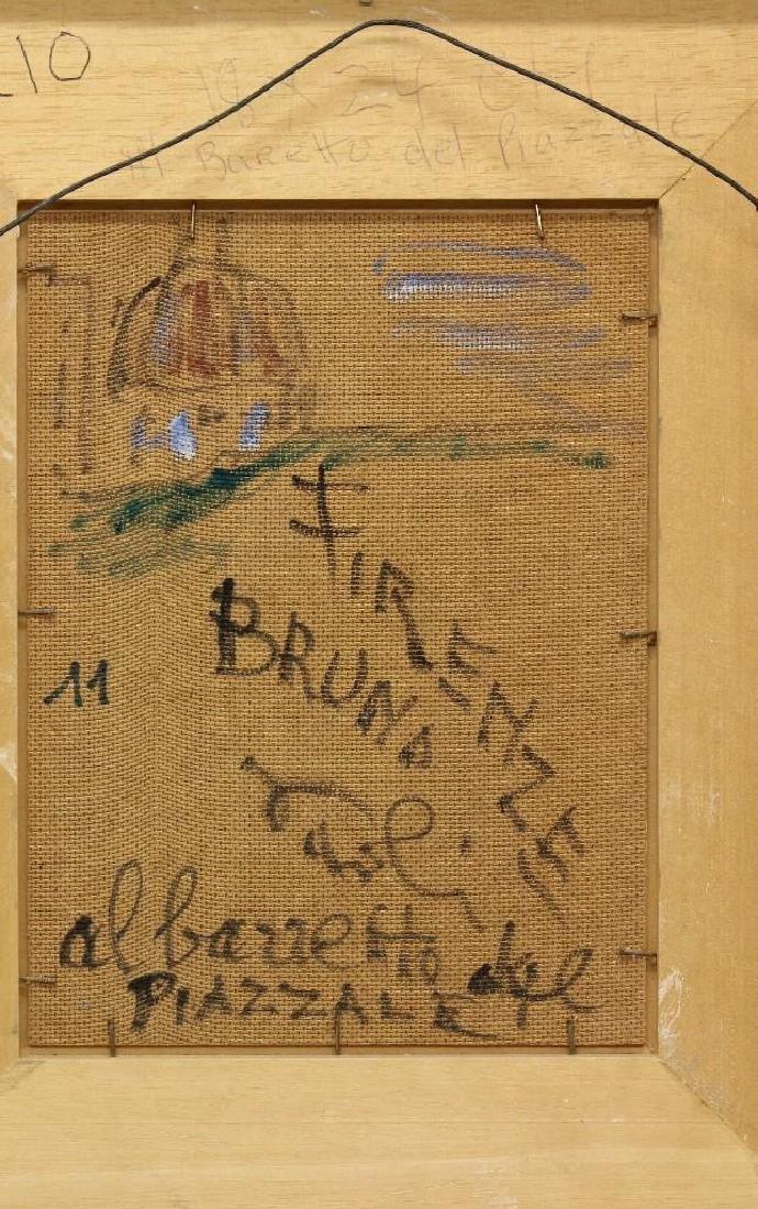 """Bruno Paoli (1915-2005, Italy) """"Baretto del Piazzale"""" - 4"""