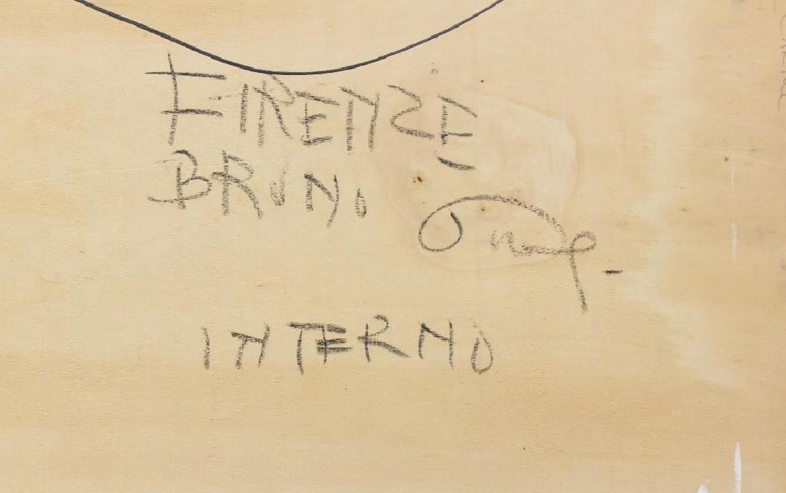 "Bruno Paoli (1915-2005, Italy) ""Inrerno"" - 5"