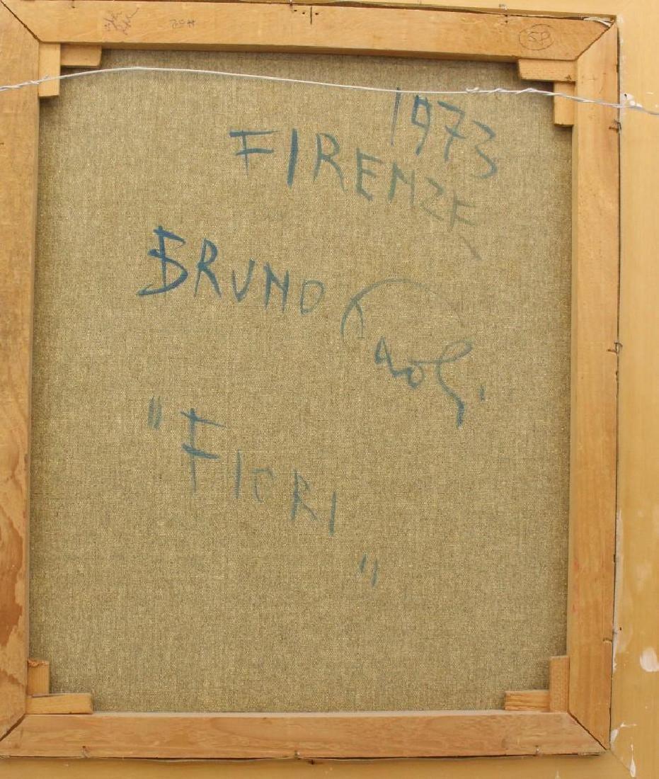 """Bruno Paoli (1915-2005, Italy) """"Fiori"""" - 5"""