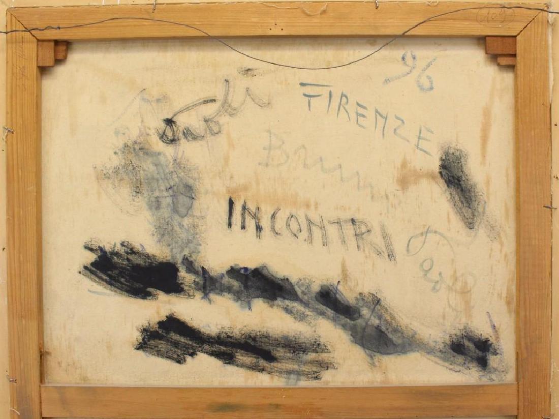 """Bruno Paoli (1915-2005, Italy) """"Incontri"""" - 5"""