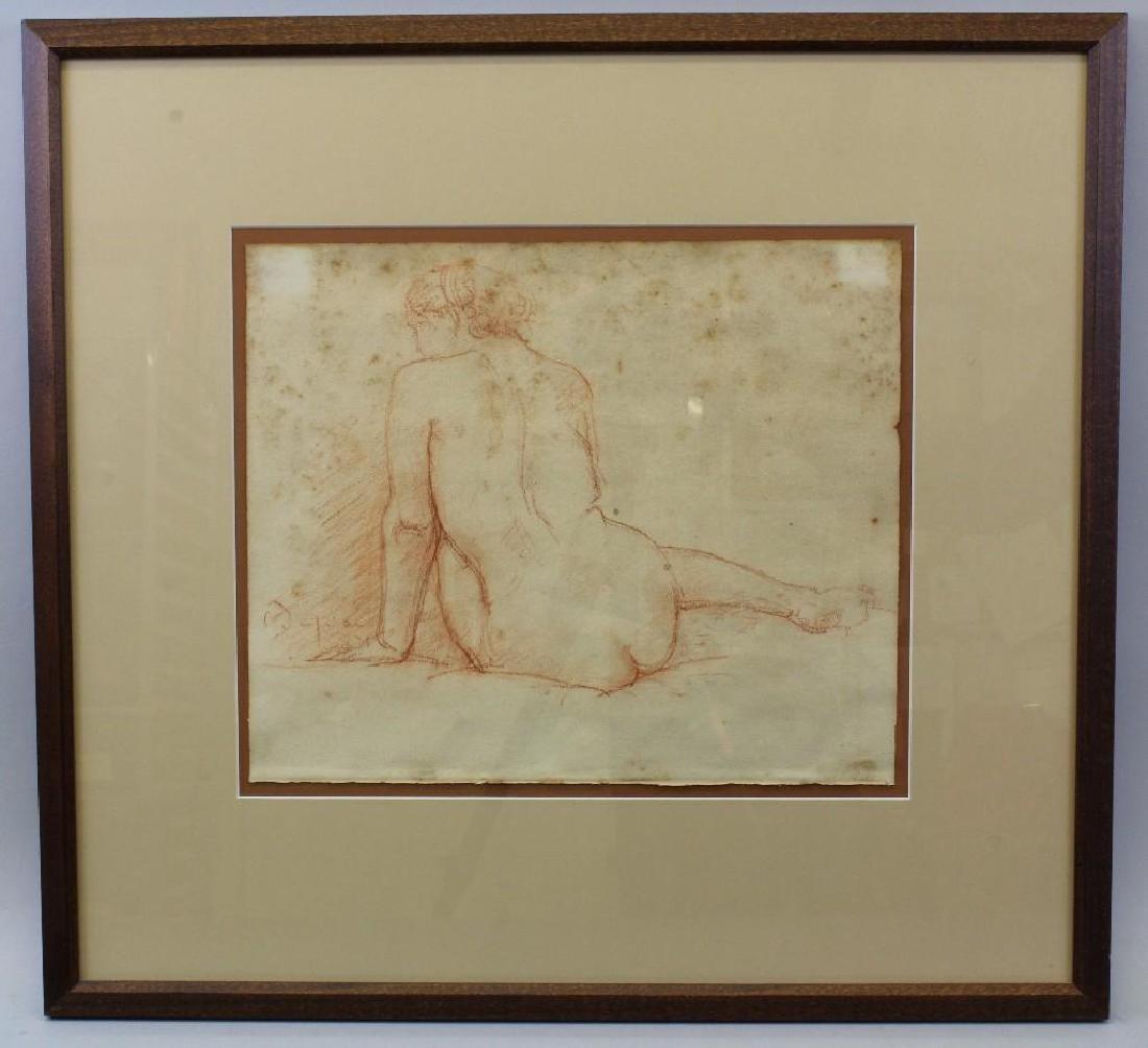 "Charles Albert Despiau (1874-1946, France) ""Seated Girl"