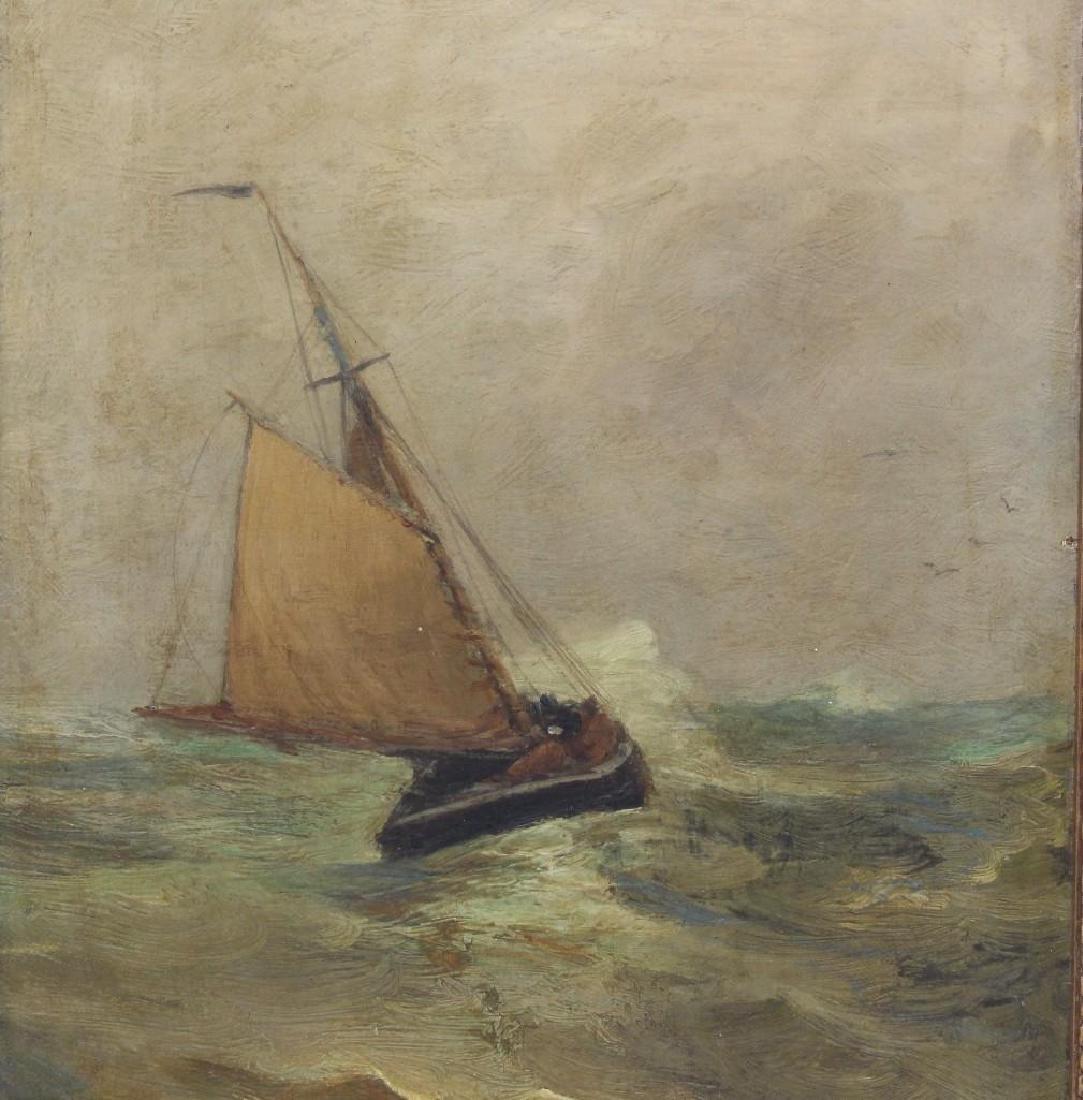 "Carlton Theodore Chapman (1860-1925, NY) ""Wet Weather"" - 2"