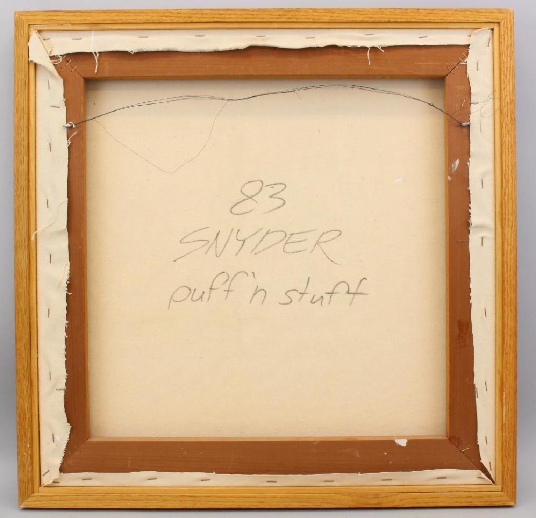 """George Snyder (b 1951, US) """"Puff 'n Stuff"""" - 3"""