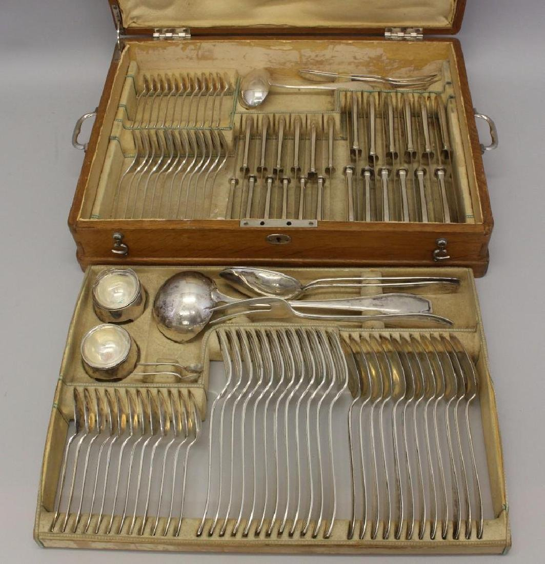 800 German Silver, Solingen Flatware Set - 3