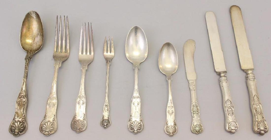 George W. Shiebler Sterling Silver Flatware Grouping