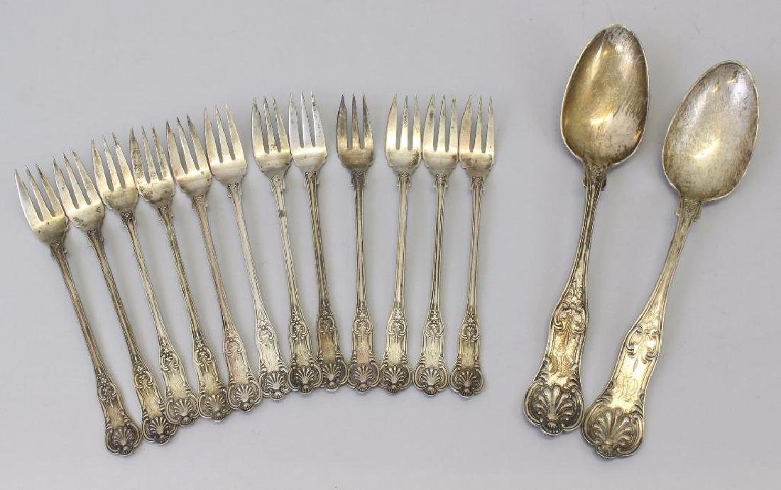 George W. Shiebler Sterling Silver Flatware Grouping - 3