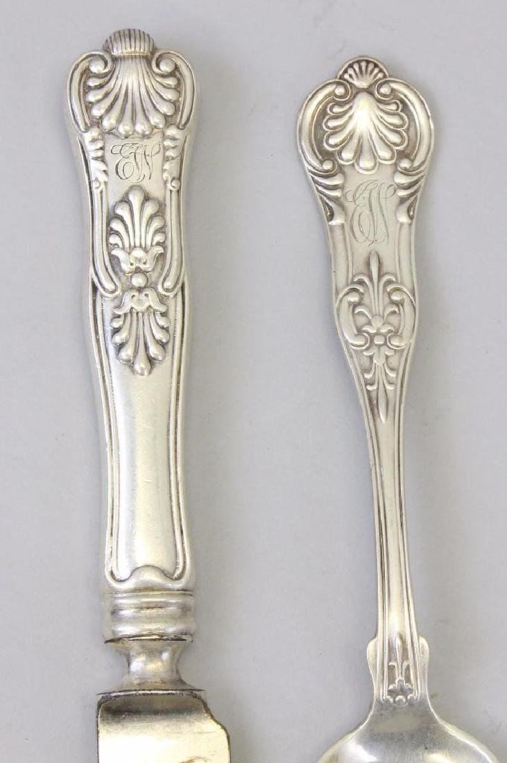 George W. Shiebler Sterling Silver Flatware Grouping - 6