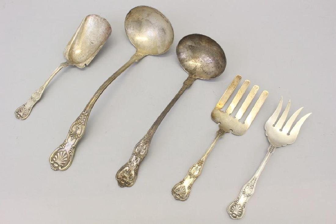 (5) Piece J.E. Caldwell and Co. Sterling Grouping
