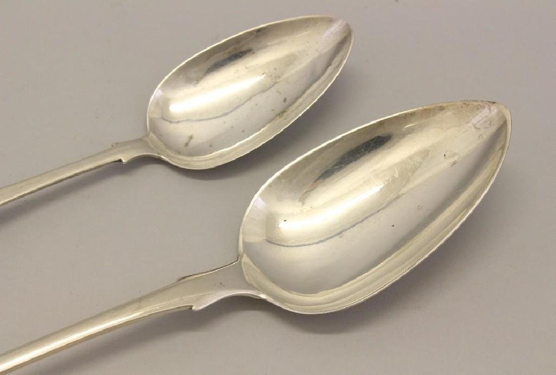 Lot of (2) Silver Serving Spoons -NEED NEW LEAD PHOTO - 4