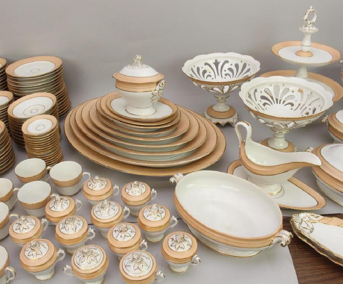 (203) Piece French Soft Paste Dishware Set - 3