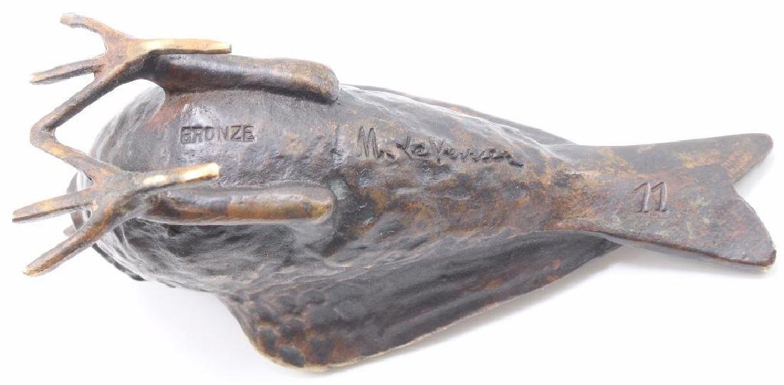 Max LeVerrier Bronze Aviary Sculpture - 3