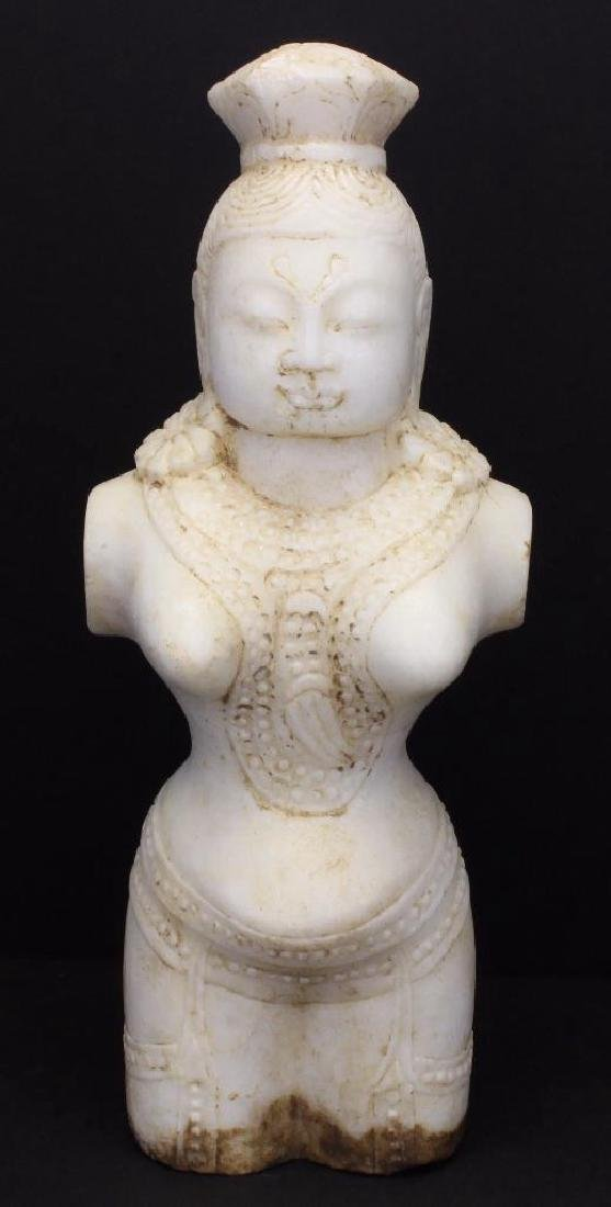 Marble Female Buddha Scuplture