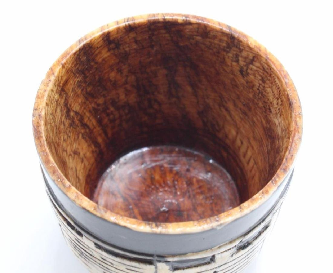 (7) Piece Japanese Stoneware Sake Set - 7