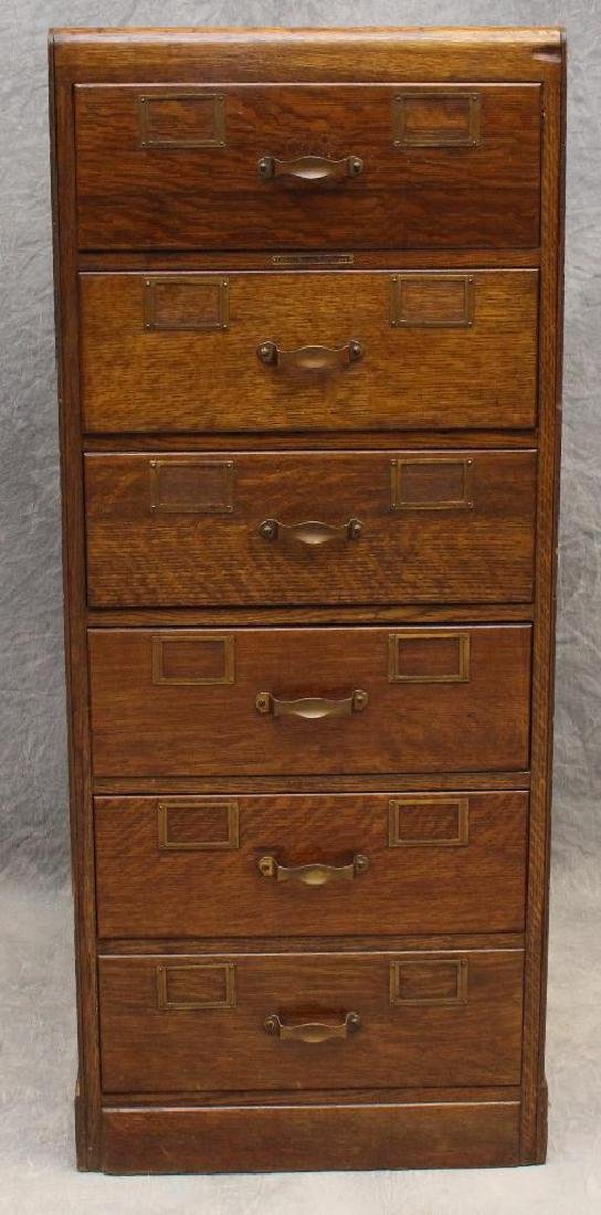 Library Bureau Sole Makers Filing Cabinet