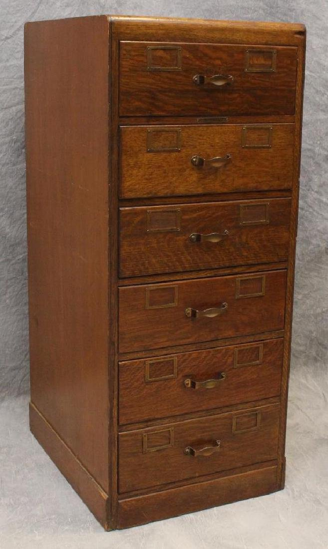 Library Bureau Sole Makers Filing Cabinet - 2