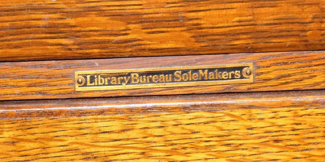 Library Bureau Sole Makers Filing Cabinet - 3