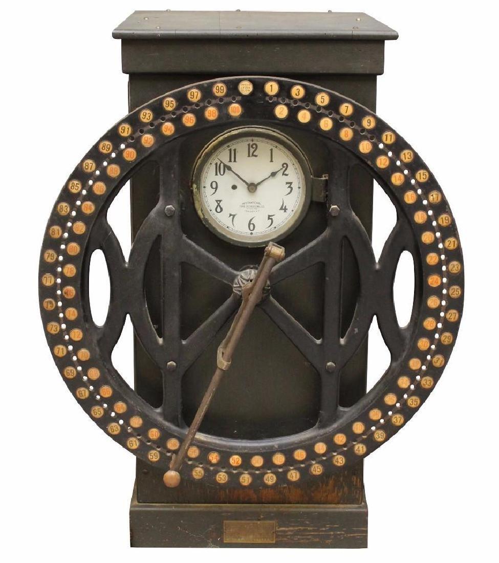 International Time Recording Punch Clock