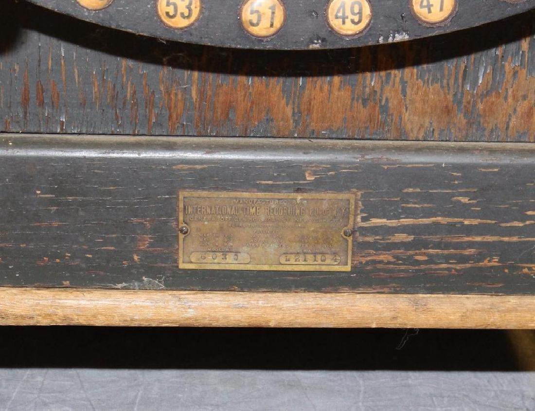 International Time Recording Punch Clock - 3