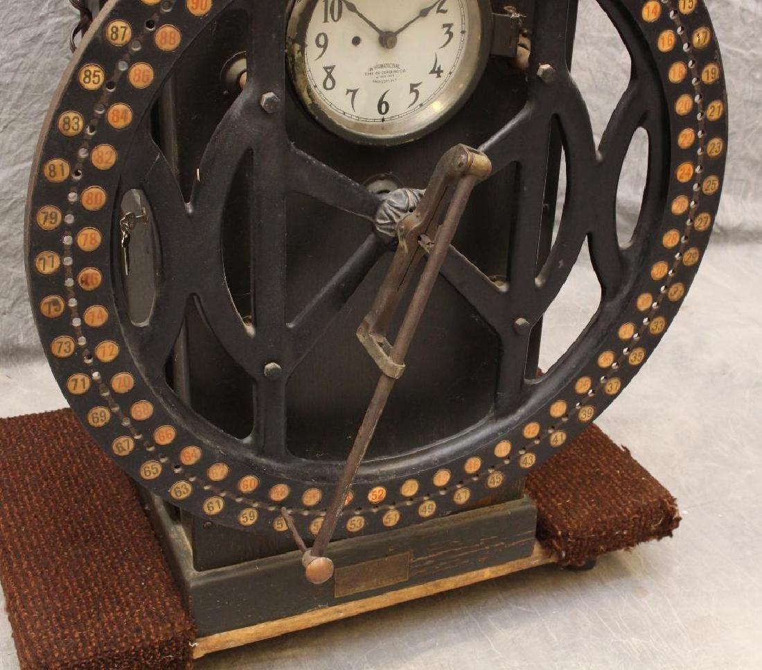 International Time Recording Punch Clock - 5