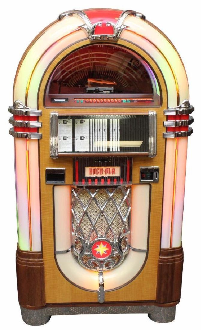 "Rock-Ola CD-8 ""Bubbler"" Jukebox"