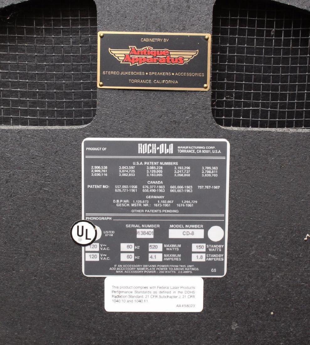 "Rock-Ola CD-8 ""Bubbler"" Jukebox - 3"