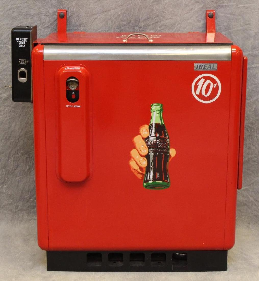 Ideal 10 Cent Coca-Cola Machine/Cooler