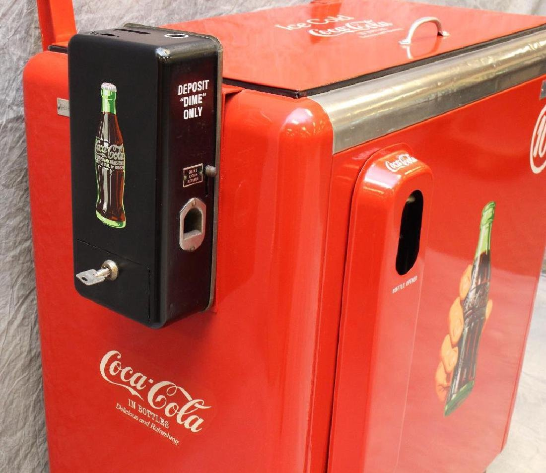 Ideal 10 Cent Coca-Cola Machine/Cooler - 2