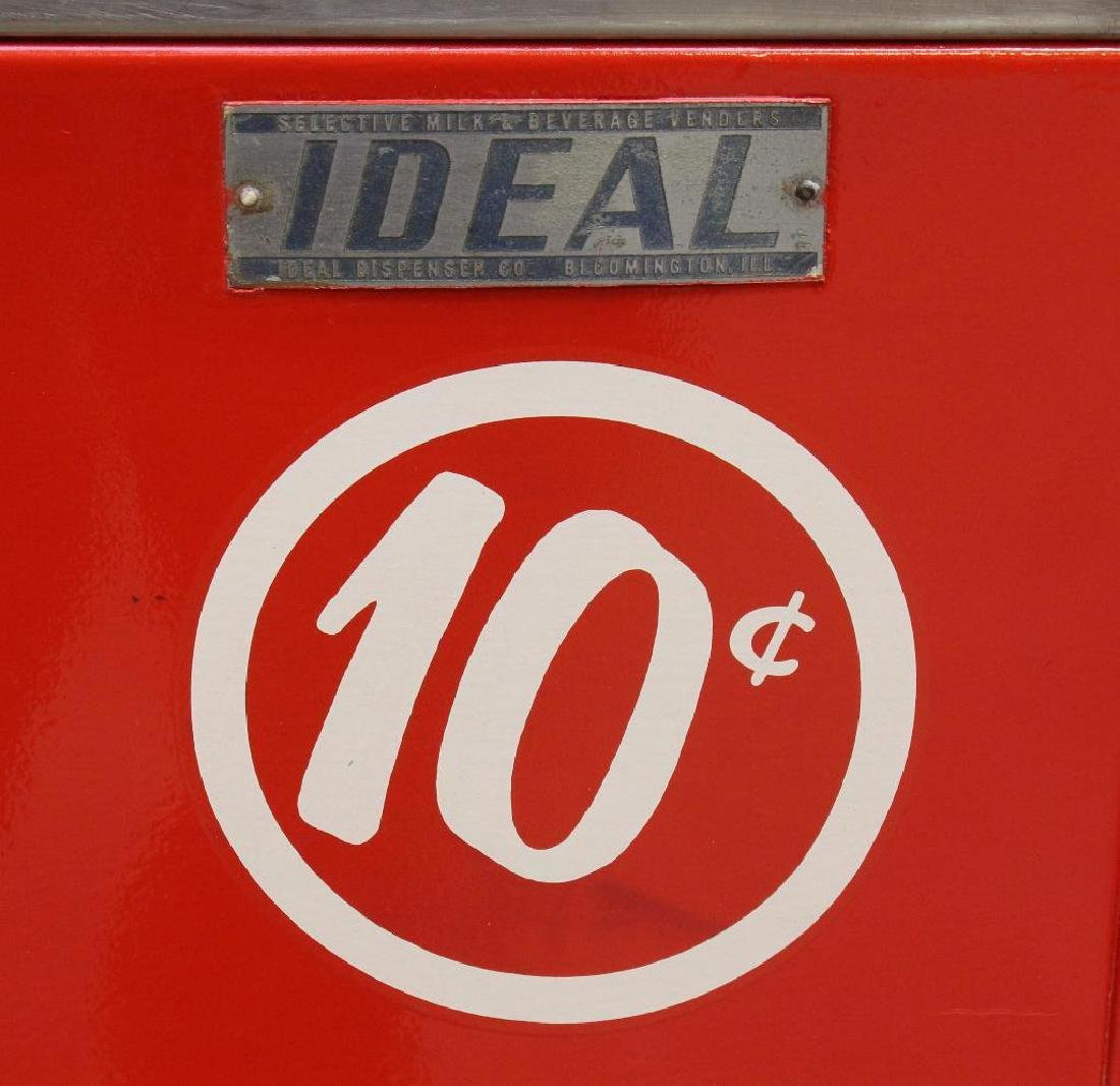 Ideal 10 Cent Coca-Cola Machine/Cooler - 3