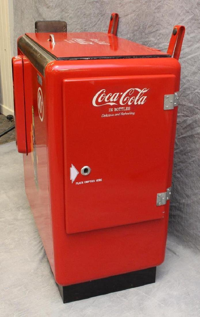 Ideal 10 Cent Coca-Cola Machine/Cooler - 4