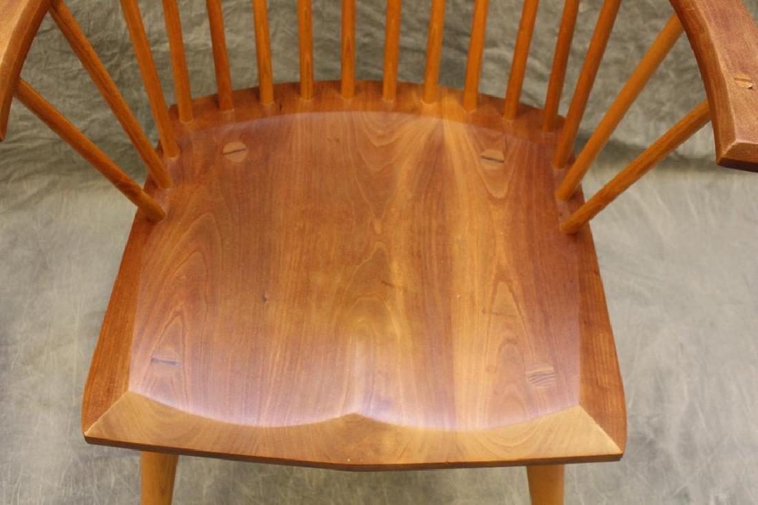 Pair of Thomas Moser Custom Made Armchairs - 3