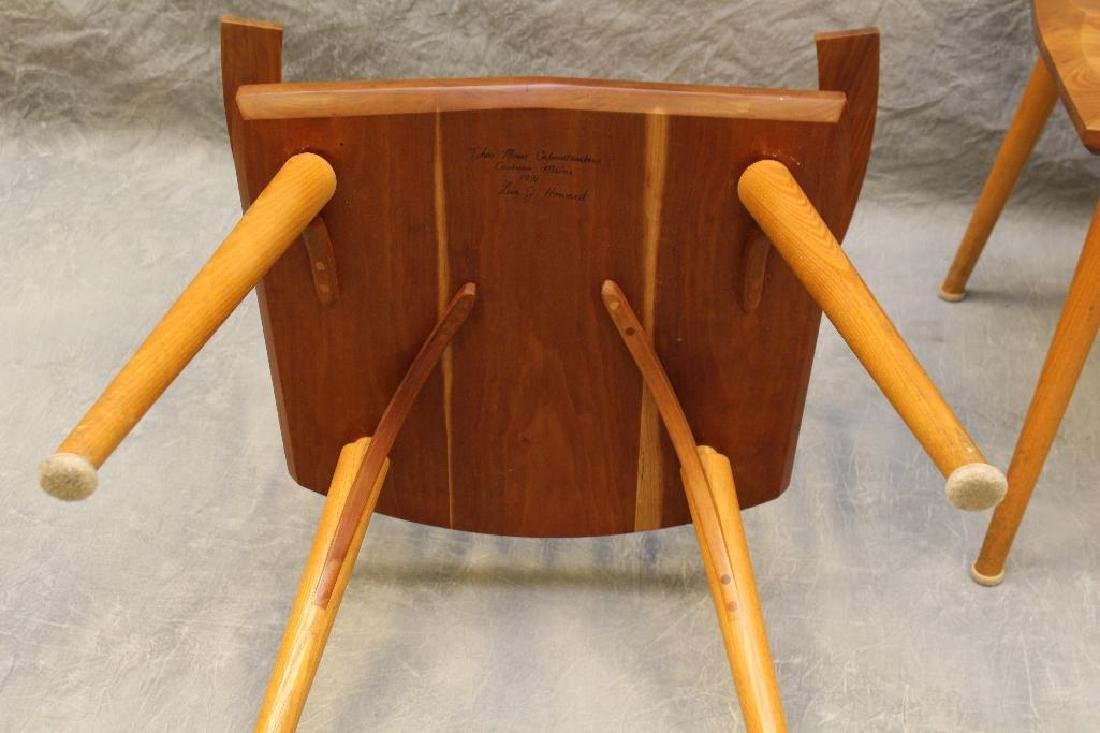 Pair of Thomas Moser Custom Made Armchairs - 5
