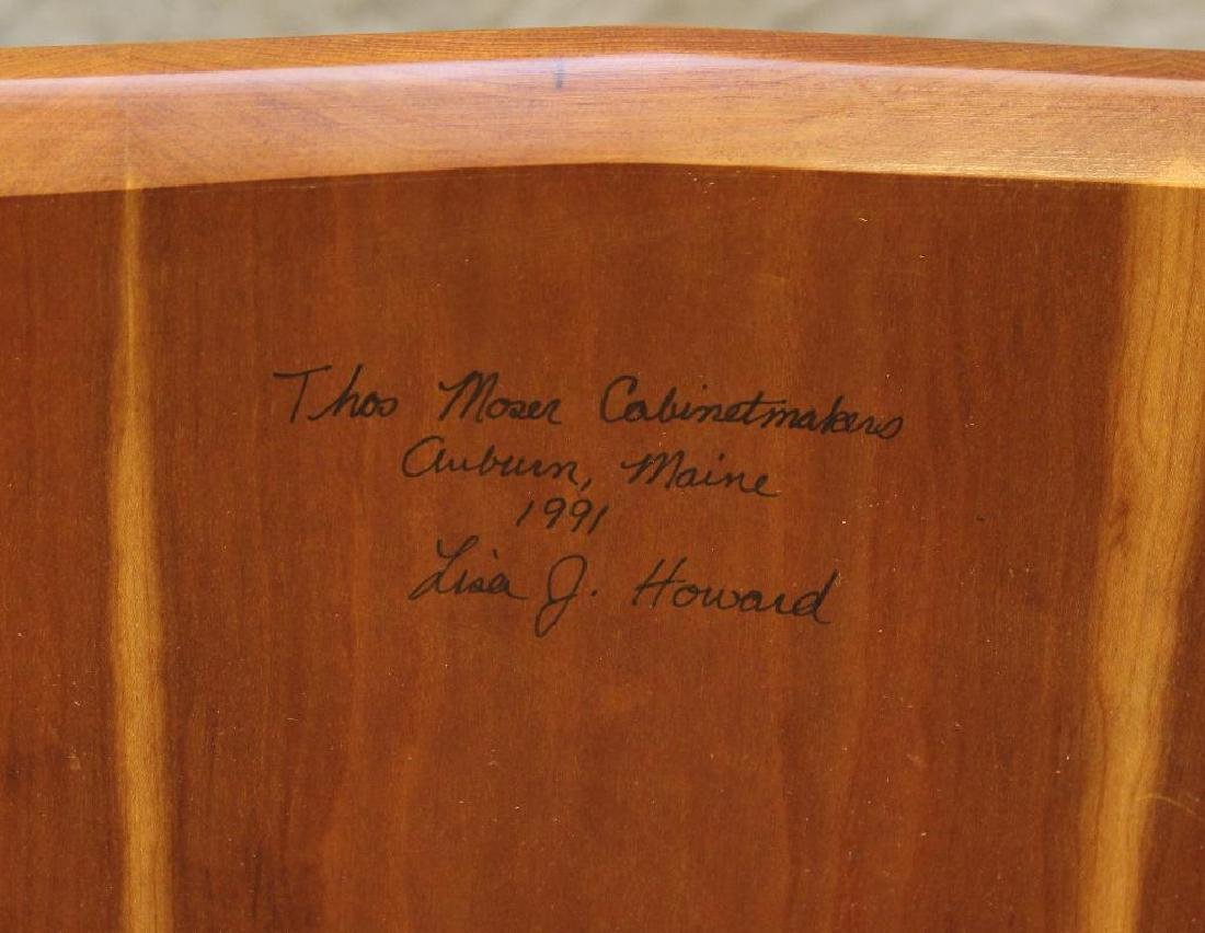 Pair of Thomas Moser Custom Made Armchairs - 6
