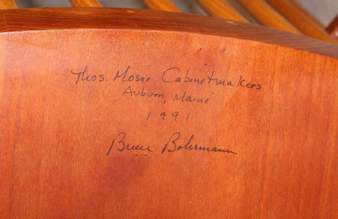 Pair of Thomas Moser Custom Made Armchairs - 7
