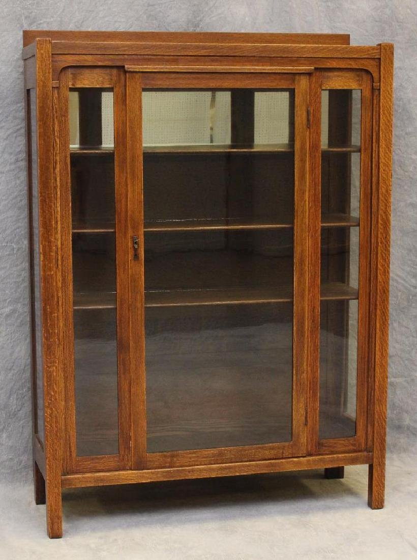 Arts and Crafts Style China Cabinet