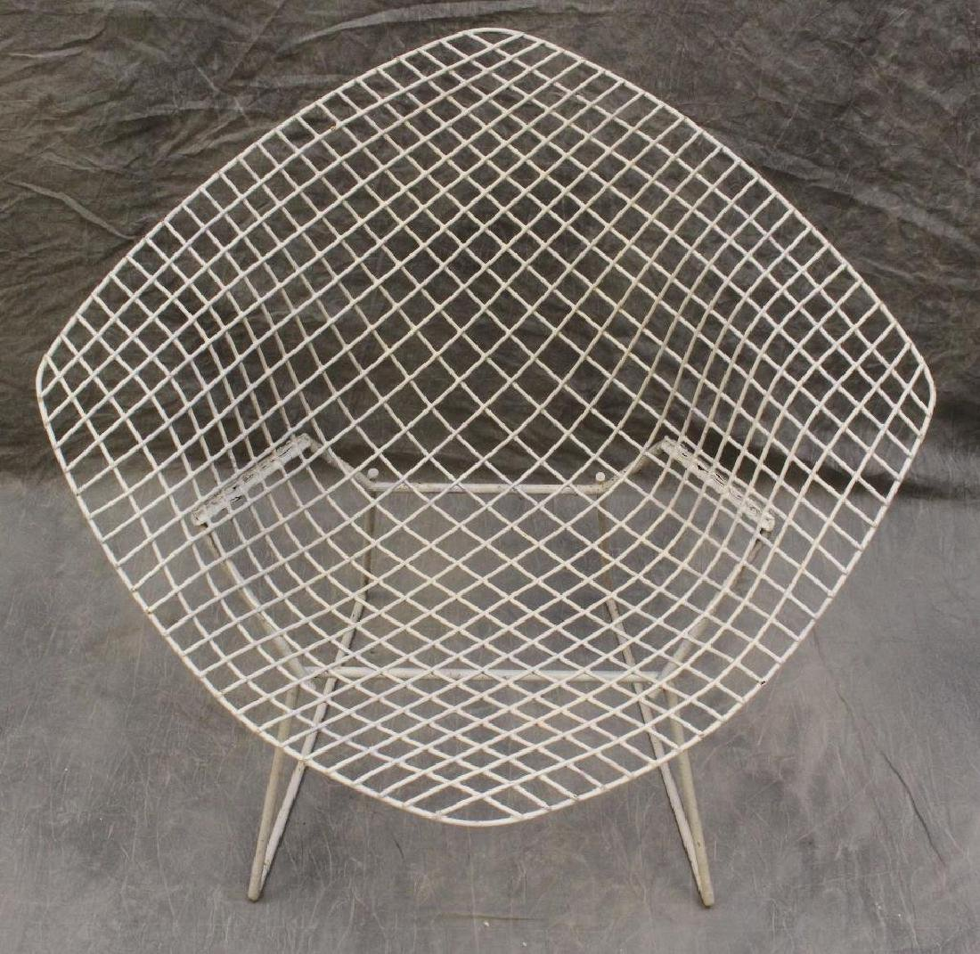 Set of (4) Harry Bertoia Diamond Chairs - 2