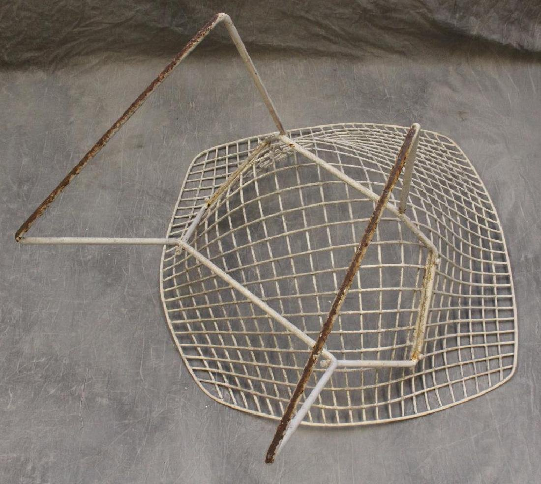 Set of (4) Harry Bertoia Diamond Chairs - 3
