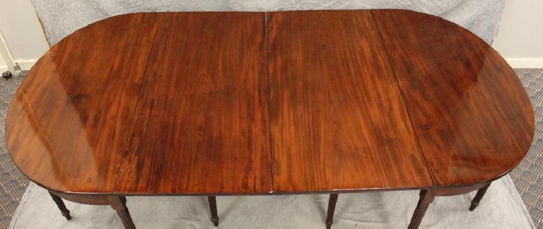Federal Mahogany Banquet Table - 2