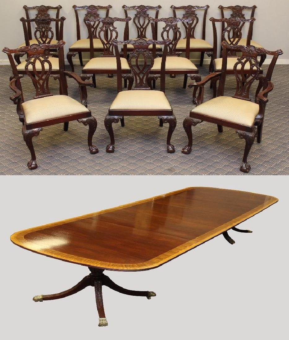 (13) Piece Councill Craftsman Dining Suite