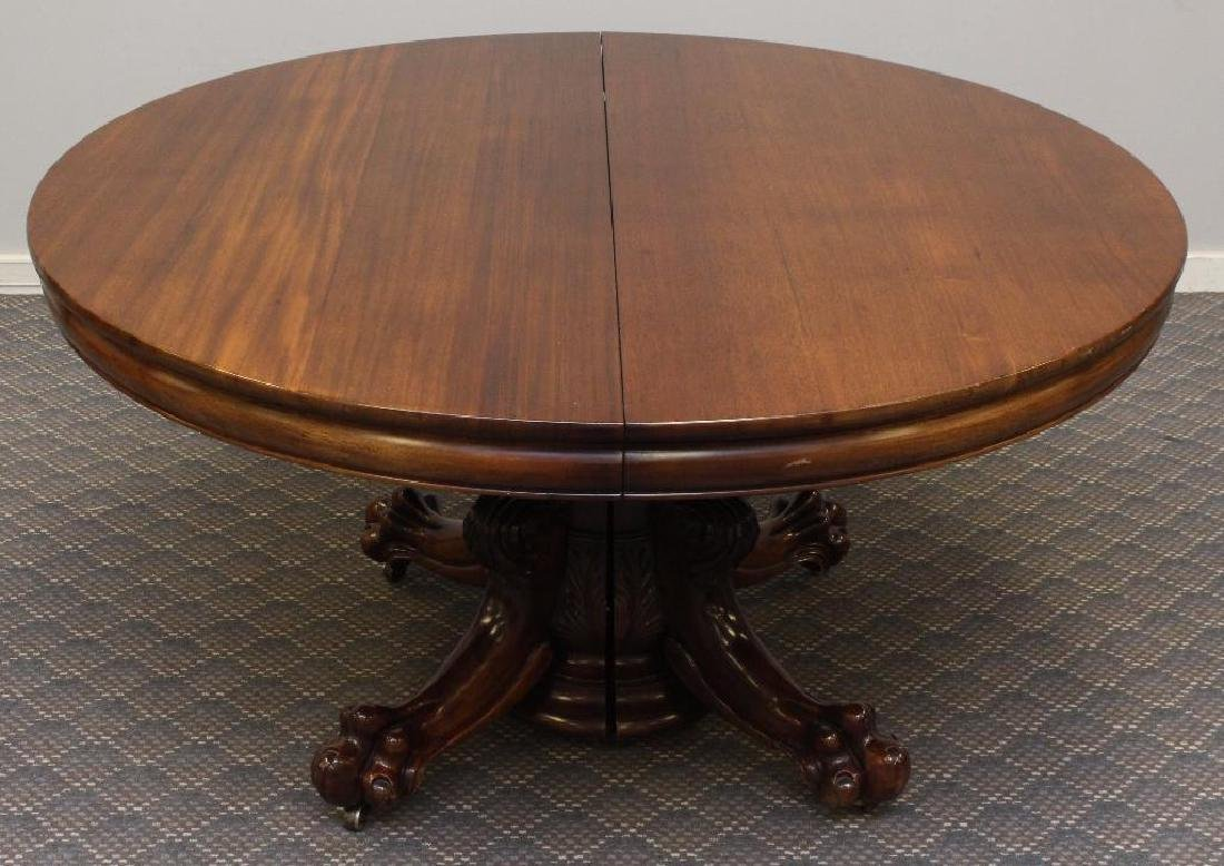 Late Victorian Mahogany Extension Dining Table - 5