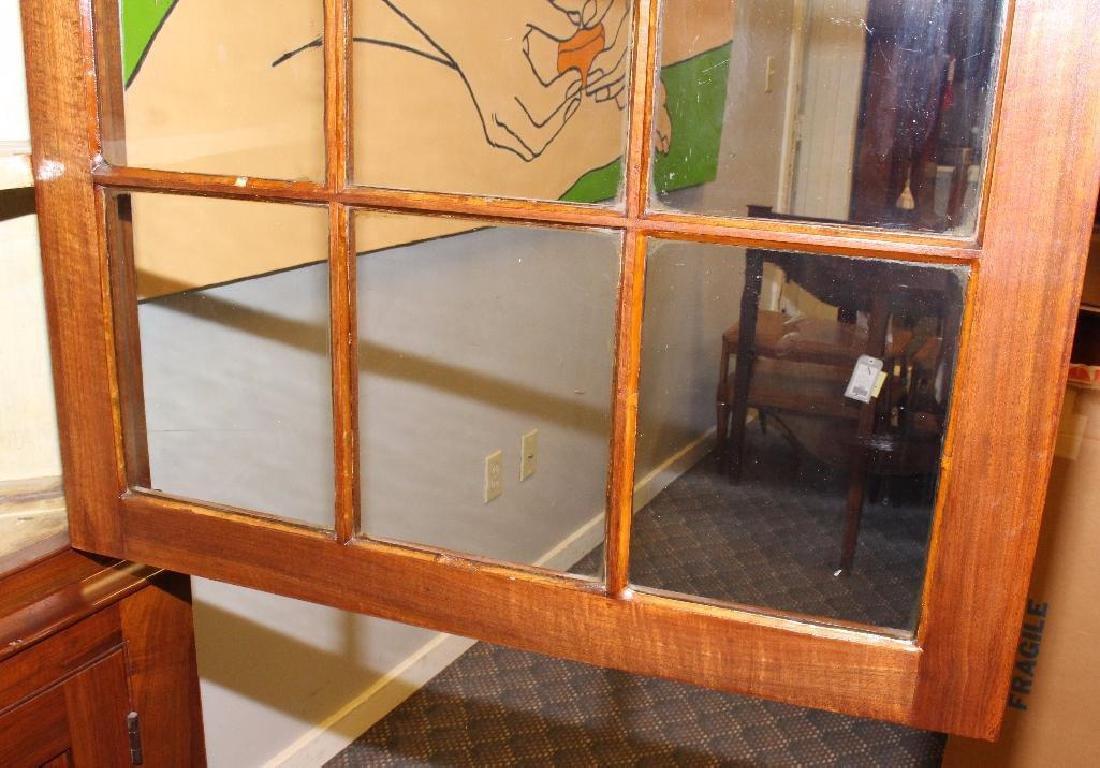Pennsylvania Federal Walnut Corner Cupboard - 4