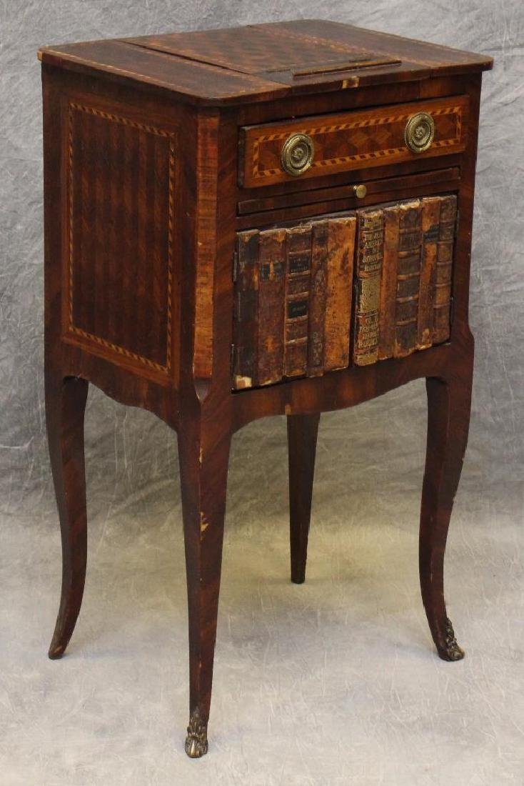 Mahogany Inlaid Writing Table - 2