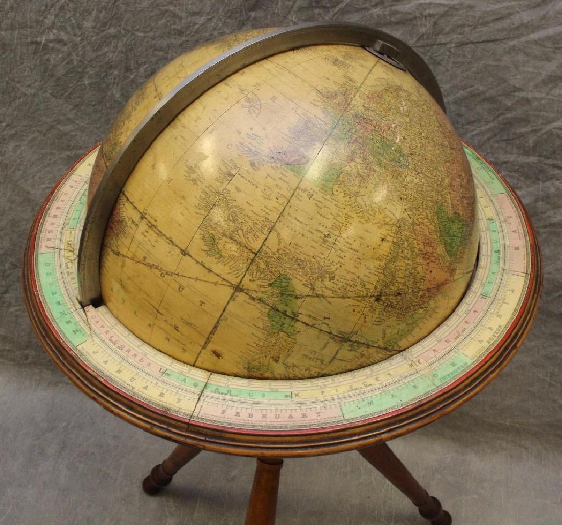 Gilman and Joslin Improved Terrestrial Globe - 2