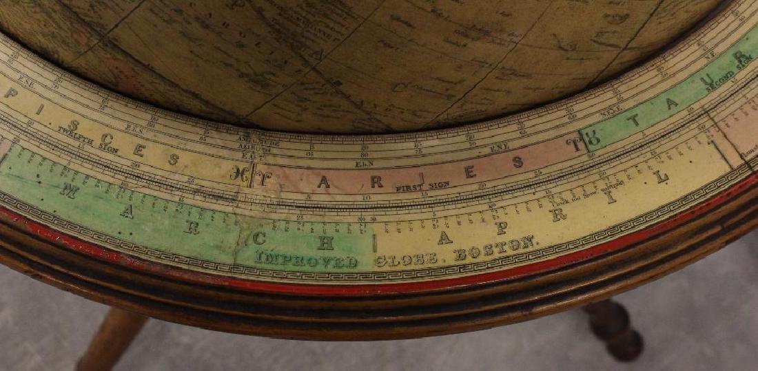 Gilman and Joslin Improved Terrestrial Globe - 6