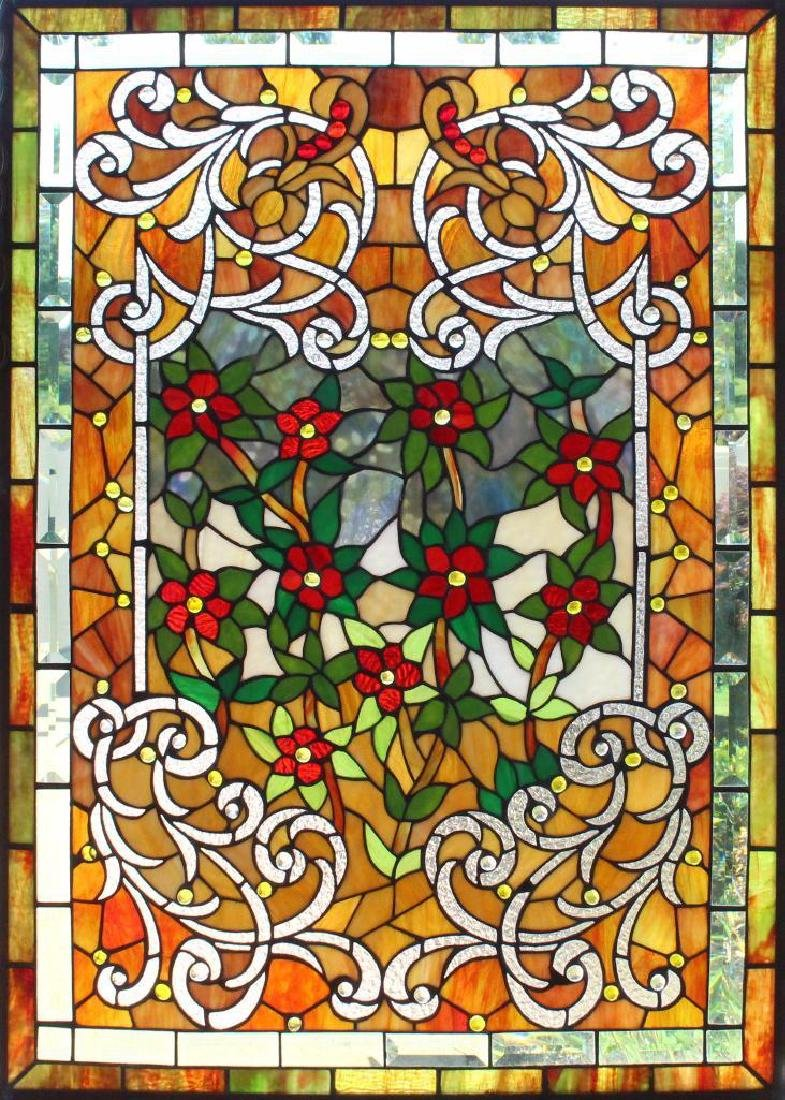 Leaded Stained Glass Window