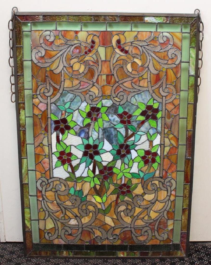 Leaded Stained Glass Window - 4