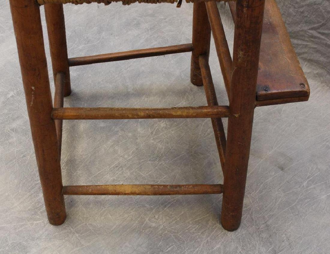 Child's Poplar Ladderback High Chair - 4